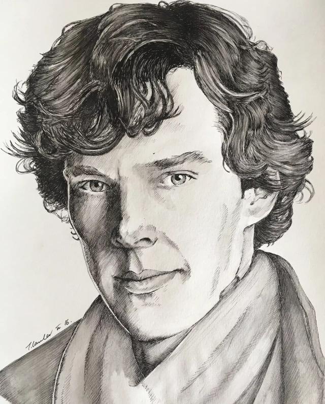 Benedict Cumberbatch by TraceyLawler